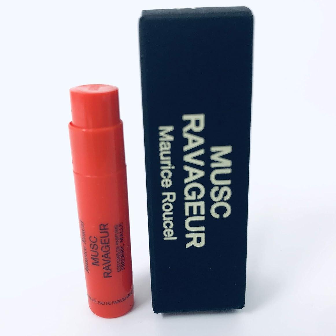 印象的トラック上院議員Frederic Malle Musc Ravageur (フレデリック マル ムスク ラバジェール) 0.05 oz (1.5ml) EDP Sample サンプル Spray for Women