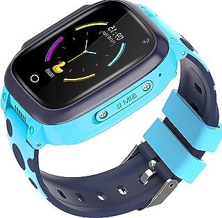shjjyp Reloj Inteligente NiñO GPS Y Llamadas Sumergible Reloj Inteligente NiñA Ip67 Lbs Hacer Llamada Chat De Voz Sos Modo...