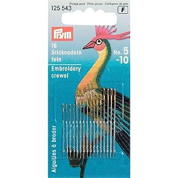 Prym 6 Stick agujas sin punta nº 26 nº 125 562