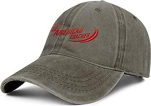 JYYBN Fashion Women Baseball Denim Hat Golf Blank Fashion MidAmerican_Logo- Cap