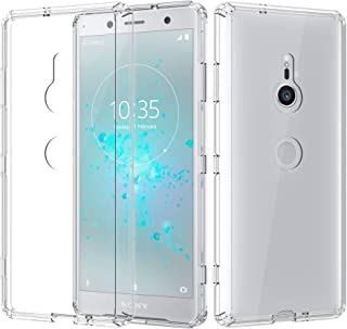 ShinyMax Sony Xperia XZ3 Clear Case,Sony Xperia XZ3 Phone Case,Transparent Hybrid Sturdy Protective Cover Flexible Shockpr...