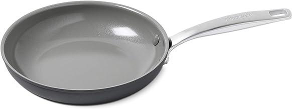 """GreenPan Chatham 8"""" ceramic Non-Stick Open Frypan, Grey -"""