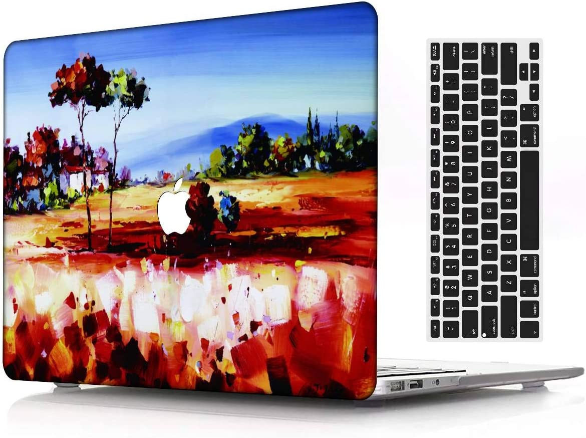 A2179 KBBHD Plastic Shell Case Cover Cut Out Design Only Compatible Newest Version MacBook Air 13 inch Retina//Touch ID 2020 Release Galaxy A 31 Keyboard Cover Model