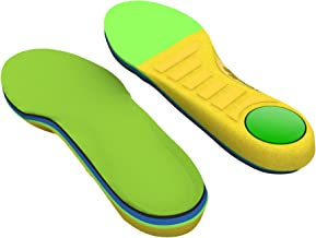 Spenco Kids Polysorb Premium Orthotic Arch Support Shoe Insoles for Children, Youth 5-6