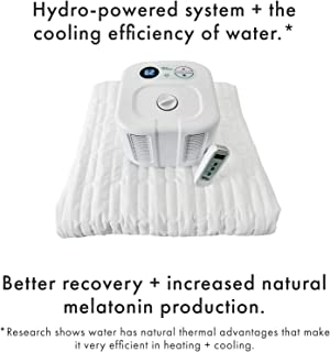"""Chili Technology chiliPAD Cube 3.0 - ME and WE Zones - Cooling and Heating Mattress Pad - Individual Temperature Control, Great Sleep Enhancement, Wireless Remote Integration (Single (75"""" L x 30"""" W))"""