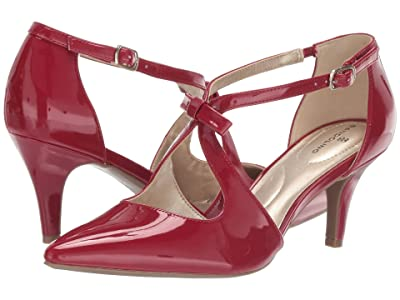 Bandolino Zeffer Pump (Rossy Red) Women