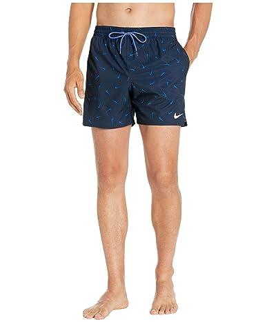Nike 5 Confetti Lap Volley Shorts (Obsidian) Men
