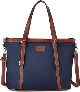 Bageek Tote Bag for Women Nylon Waterproof Tote Purses Blue Work Tote Handbags