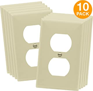 ivory electrical wall plates