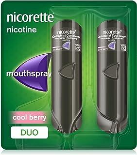 Nicorette QuickMist Mouth Spray, Cool Berry Flavour,