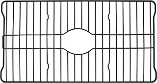 Better Houseware Extra Large Sink Protector Grid, Black