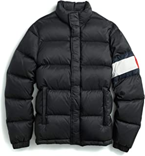 Tommy Hilfiger Men's Adaptive Puffer Jacket with Magnetic Zipper