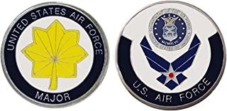 """Air Force Officer Ranks - Major """"O - 4"""" Collectible Challenge Coin/Logo Poker/Lucky Chip/Gift"""