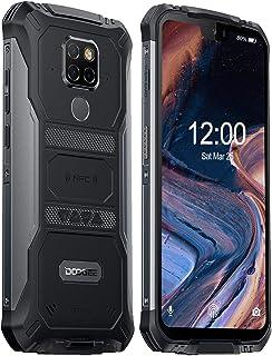DOOGEE S68 Pro Teléfono Móvil Todoterreno Helio P70 Octa Core 6GB + 128GB 4G IP68 Smartphone Libres Antigolpes Android 9.0 6300mAh Cámara 21MP+16MP 5.9 Inch FHD+ NFC Carga Inalámbrica Negro