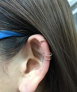 Amazon.es: pendientes cartilago oreja mujer
