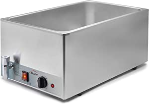 LACOR GN 1/1 230 V Stainless Steel Electric Bain Marie Set, us:one Size, Silver