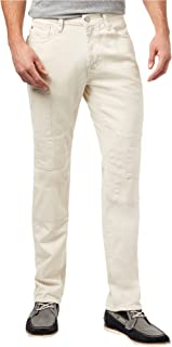 Tommy Hilfiger Mens Cali Patchwork Straight Leg Jeans