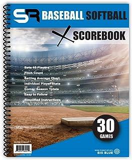"SR Baseball / Softball Scorebook ""Big Blue"""