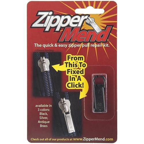 ZipperMend, Black