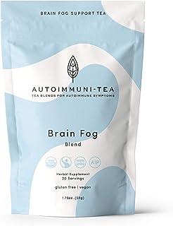 AIP Diet Herbal Tea - Brain Fog Tea Blend for Autoimmune Protocol, AIP, Whole 30, Paleo-friendly - AIP diet Loose Leaf Herbs