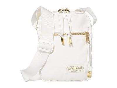 EASTPAK The One (Goldout White) Cross Body Handbags