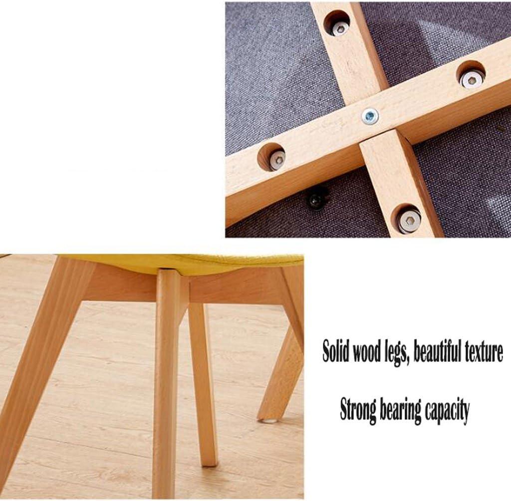 AJZGFChaise de salle à manger, chaise de cuisine Chaise douce minimaliste élégante, chaise longue moderne, chaise de café, chaise de réception (Color : A) B
