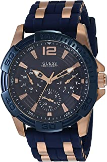 Guess - Montre homme Sport steel silicone (W0366G4) taille Taille unique cm