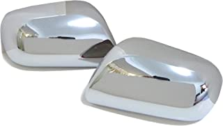 Chrome Mirror Cover Set fits for Toyota Yaris 2nd Gen. 2005-2011