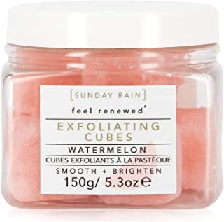 Sunday Rain Exfoliating Shea Sugar Cubes, 8Count, Watermelon