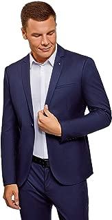 Ultra Men's Slim-Fit Single-Button Blazer