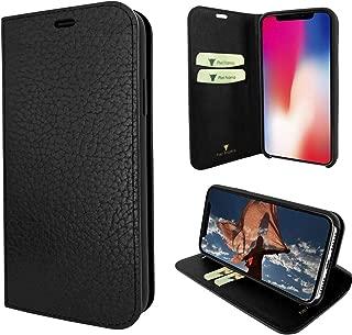 Piel Frama iPhone X/Xs FramaSlimCards Leather Case - Black iForte