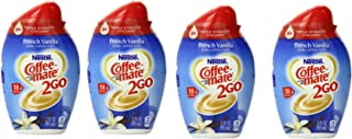 Nestle Coffee-mate 2Go, French Vanilla 2.94 Oz (Pack of 4)