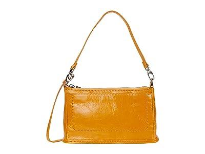 Hobo Cadence (Mustard Vintage Hide) Cross Body Handbags