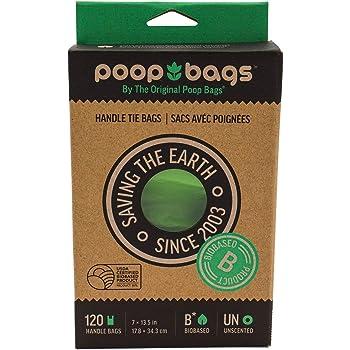 The Original Poop Bags USDA Certified Biobased Pet Waste Bags - Durable, Leak-Resistant - Packaging May Vary