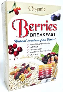 Radiant Breakfast Organic 400g (628MART) (Berries, 6 Count)