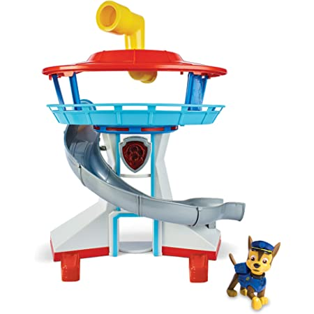 Paw Patrol The Lookout Playset with Chase, Toys for Boys & Girls/ Kids, 3 Years & Above, Pre School , Action Figures