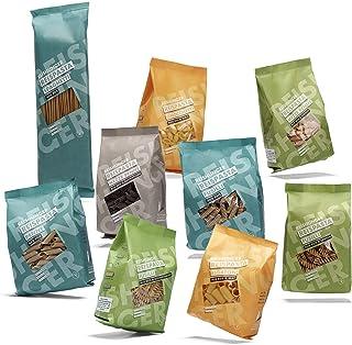 Reishunger Reispasta 9er Set – Glutenfreie Italienische Nudeln aus Reis, Mais, Linse, Erbse, Buchweizen oder Kichererbsen, DELUXE Kennenlernset 5 x 400g, 4 x 240g