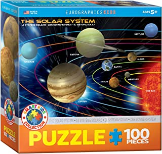 The Solar System 100 Piece Jigsaw Puzzle