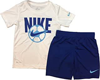 Nike Kids Boy's Sport Short Sleeve Tee & Shorts Set (Little Kids)