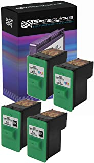 Speedy Inks Remanufactured Ink Cartridge Replacement for Lexmark 16 & Lexmark 26 (2 Black, 2 Color, 4-Pack)