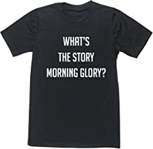 Hippowarehouse What's The Story Morning Glory? Unisex Short Sleeve t-Shirt (Specific Size Guide in Description)