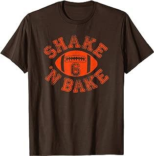 Cleveland Distressed Pro Football Fan Funny 6 | Shake N Bake T-Shirt