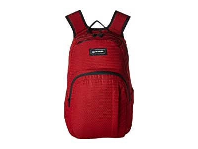 Dakine 25 L Campus Medium Backpack (Crimson Red) Backpack Bags