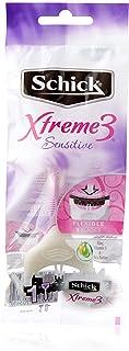 Schick XTREME 3 SENSITIVE Women's Disposable Razor
