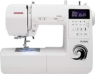Janome TS200Q Sewing Machine, White (Renewed)