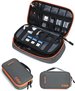 BAGSMART Electronic Organizer Travel Cable Organizer Bag Portable Electronic Accessories Bag for...