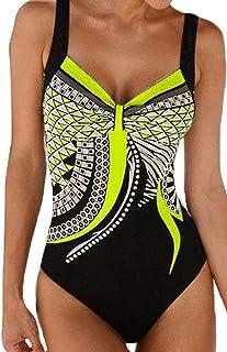 569adcaf71 Fiyote women's swimsuit, oversize swimwear, tummy control, sporty tankini  push-up figure