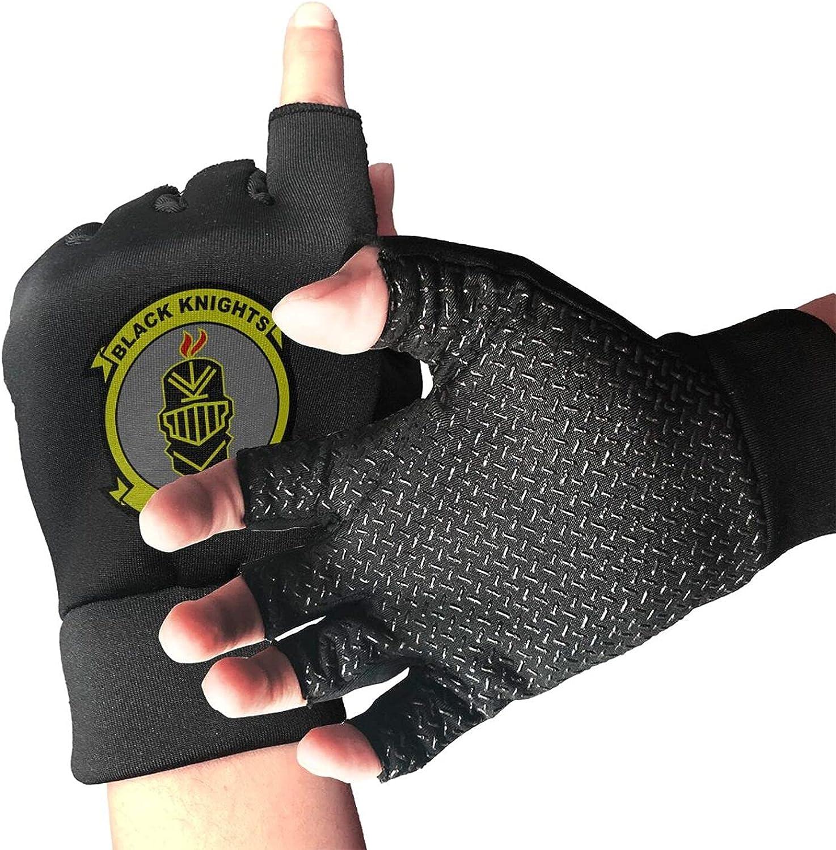 Vmfa-314 Flag Non-Slip Driving Gloves Breathable Sunblock Fingerless Gloves For Women Men
