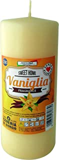 Vanilla VA05001DSP Candles, Wax, Beige, One Size