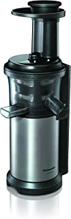 Panasonic MJ-L500 Exprimidor de velocidad lenta, 150 W, 1.3 litros, 2, Gris (Versión Importada)